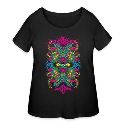 E.V. II - Color Edition - Women's Curvy T-Shirt