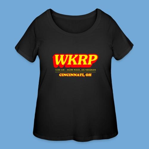 WKRP - Women's Curvy T-Shirt
