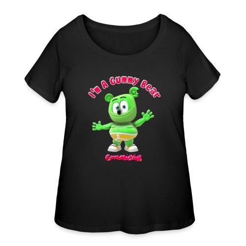 I'm A Gummy Bear - Women's Curvy T-Shirt