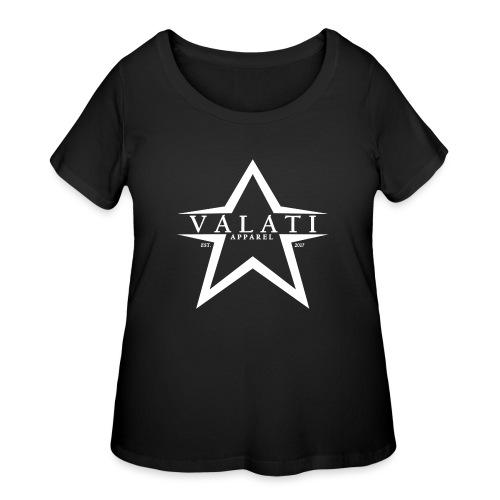 V-Star White - Women's Curvy T-Shirt