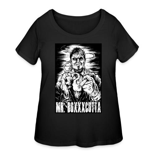 Mr. Boxxxcutta 1 - Women's Curvy T-Shirt