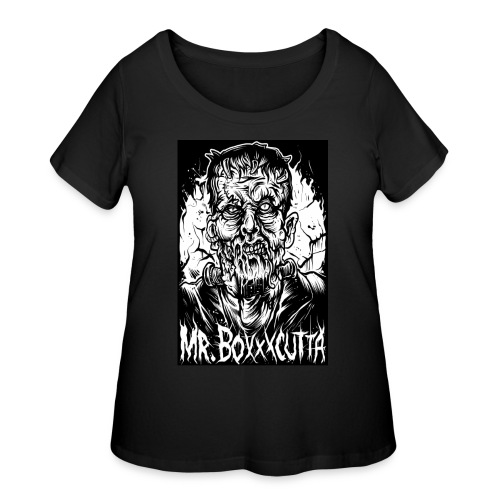Mr. Boxxxcutta 2 - Women's Curvy T-Shirt