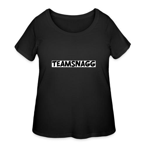 TeamSnagg Logo - Women's Curvy T-Shirt
