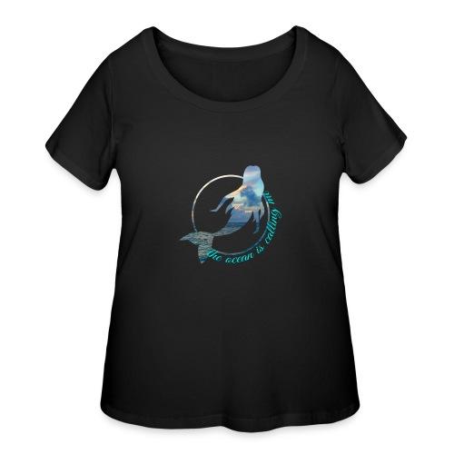 ocean - Women's Curvy T-Shirt