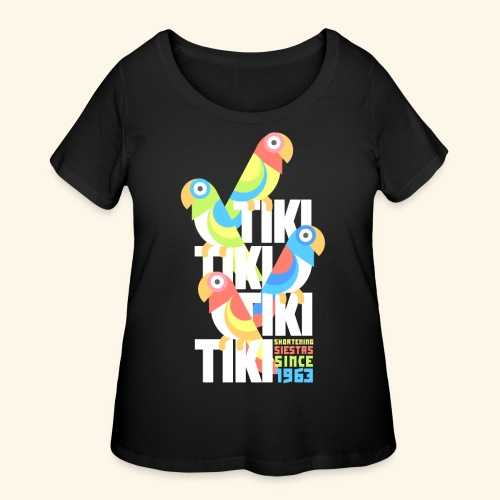 Tiki Room - Women's Curvy T-Shirt