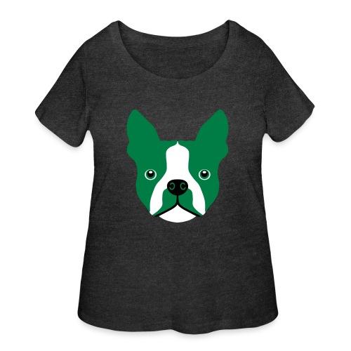 Boston Terrier - Women's Curvy T-Shirt