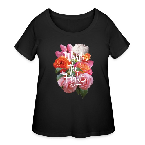 worth the fight - Women's Curvy T-Shirt