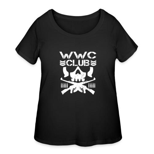 WWCClubLogo - Women's Curvy T-Shirt