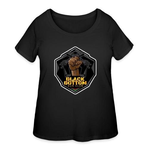 Black Bottom Gun Club - Women's Curvy T-Shirt