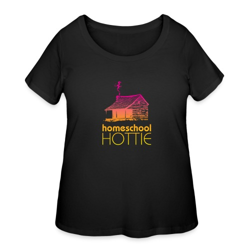 Homeschool Hottie PY - Women's Curvy T-Shirt