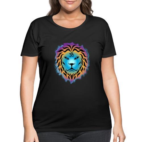 Zen Lion - Women's Curvy T-Shirt