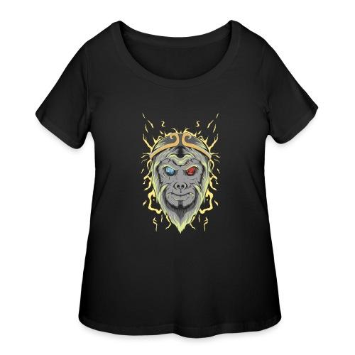 d21 - Women's Curvy T-Shirt