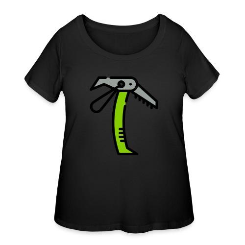 Ice Axe Vector - Women's Curvy T-Shirt
