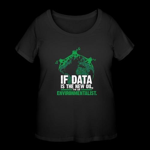 Data Environmentalist - Women's Curvy T-Shirt