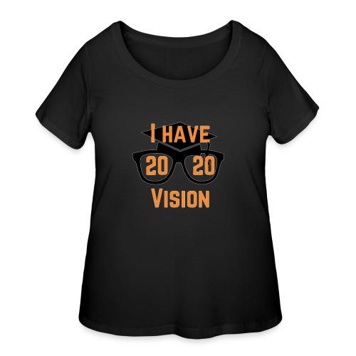 Class of 2020 Vision - Women's Curvy T-Shirt