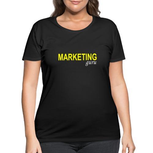Marketing Guru - Women's Curvy T-Shirt