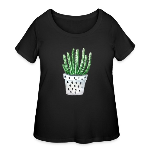 Cactus - Women's Curvy T-Shirt