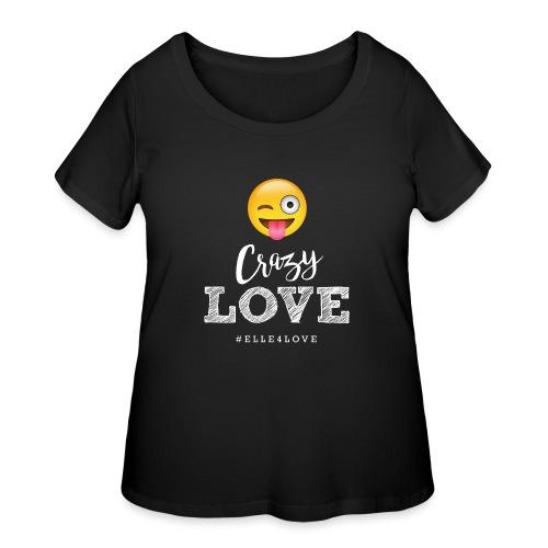Crazy Love - Women's Curvy T-Shirt