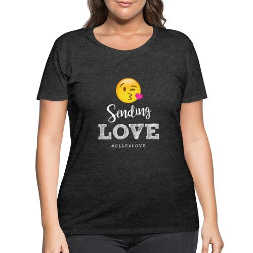 Sending Love - Women's Curvy T-Shirt