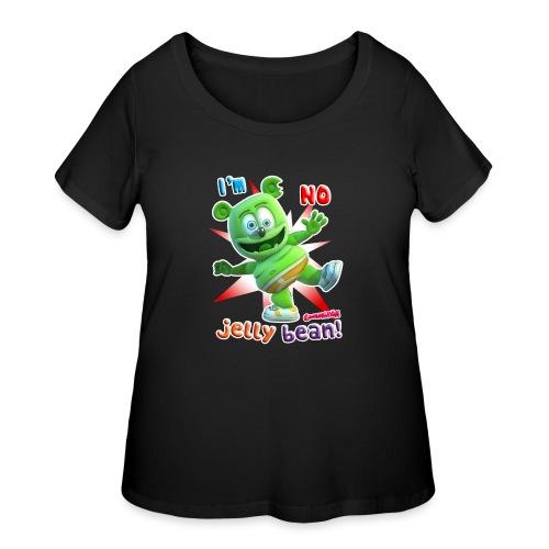 I'm No Jelly Bean - Women's Curvy T-Shirt