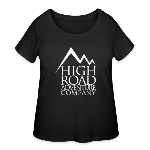 High Road Adventure Company Logo - Women's Curvy T-Shirt