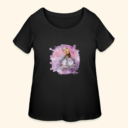 Nebula - Women's Curvy T-Shirt