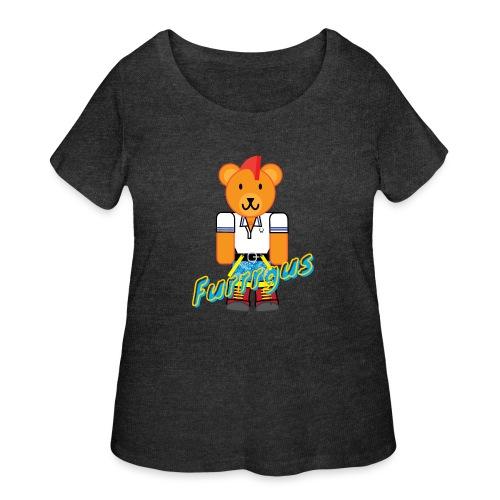 Skinhead Furrrgus - Women's Curvy T-Shirt