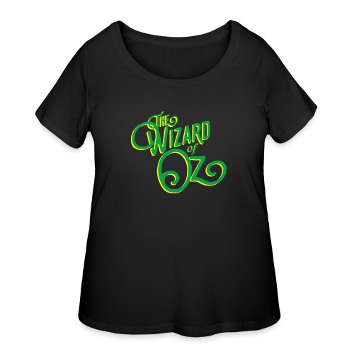 Wizard ofOz - Women's Curvy T-Shirt