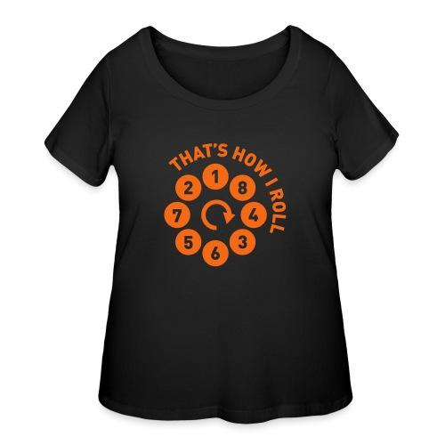 Rolling the V8 way - Autonaut.com - Women's Curvy T-Shirt