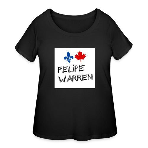 Profile Picture jpg - Women's Curvy T-Shirt