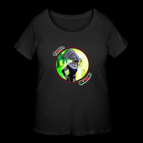 Tech Queen - Women's Curvy T-Shirt
