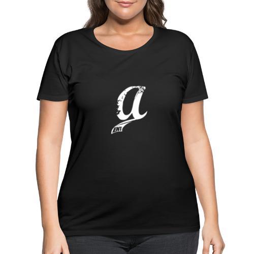 Already Logo White - Women's Curvy T-Shirt