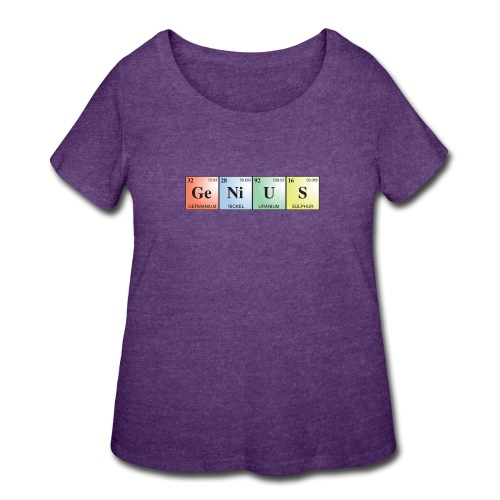 GeNiUS - Women's Curvy T-Shirt