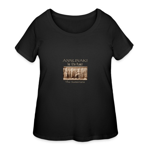 Annunaki 12th planet - Women's Curvy T-Shirt