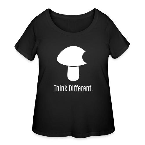 Think Different. - Women's Curvy T-Shirt