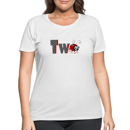 2nd Year Family Ladybug T-Shirts Gifts Daughter - Women's Curvy T-Shirt