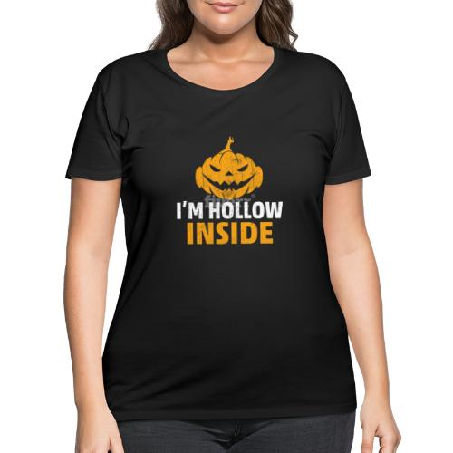 I M Hollow inside - Women's Curvy T-Shirt