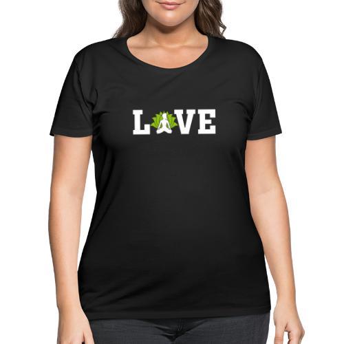 Love - Women's Curvy T-Shirt