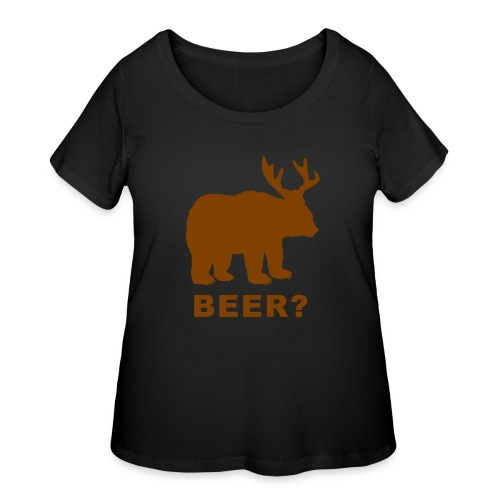 Macs Bear - Women's Curvy T-Shirt