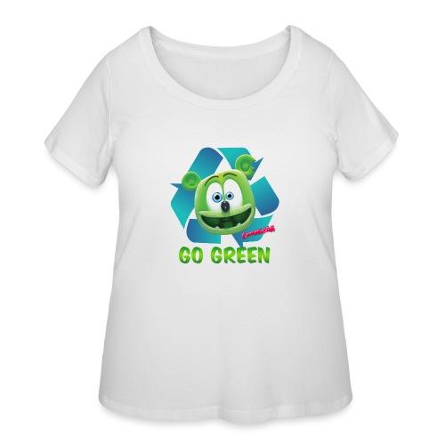 Gummibär Recycle - Women's Curvy T-Shirt