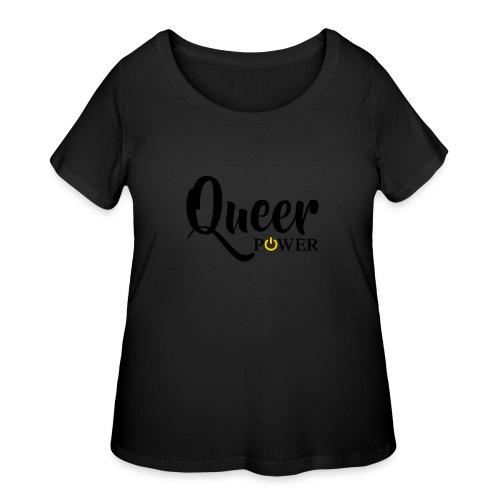 Queer Power T-Shirt 04 - Women's Curvy T-Shirt