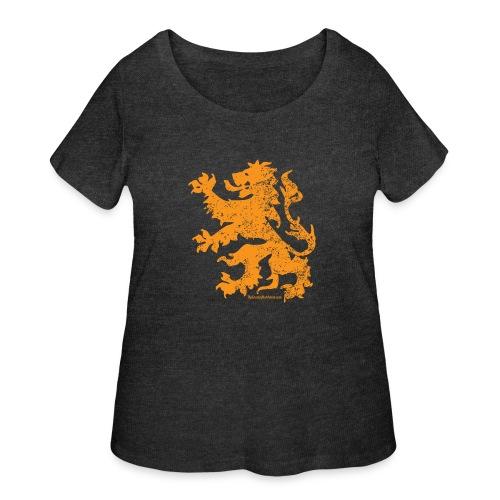 Dutch Lion - Women's Curvy T-Shirt