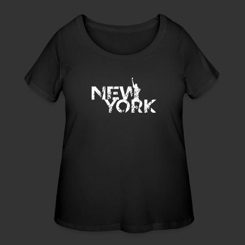 New York (Flexi Print) - Women's Curvy T-Shirt