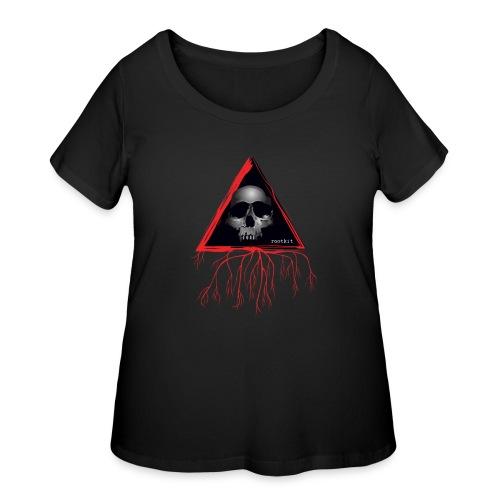Rootkit Hoodie - Women's Curvy T-Shirt