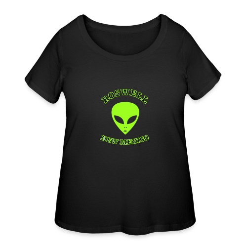 Roswell New Mexico - Women's Curvy T-Shirt