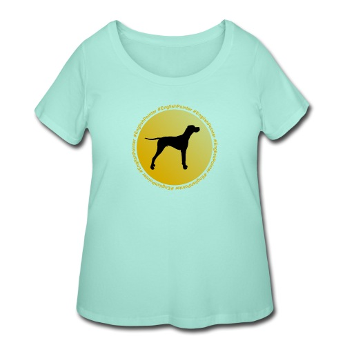 English Pointer - Women's Curvy T-Shirt