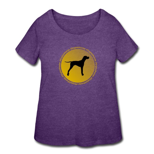English Pointer - Women's Curvy T-Shirt
