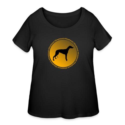 Greyhound - Women's Curvy T-Shirt