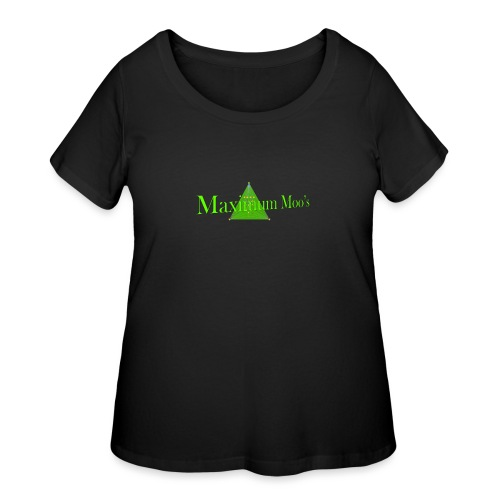 Maximum Moos - Women's Curvy T-Shirt