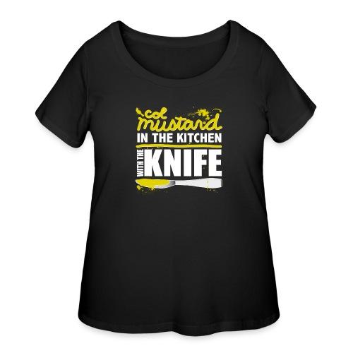 Colonel Mustard - Women's Curvy T-Shirt